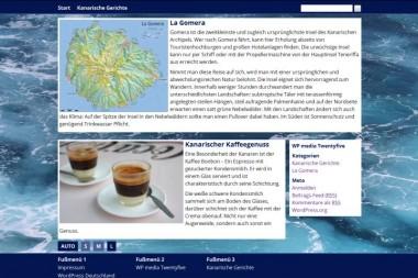 Screenshot von Kategorie-Darstellung mit oben-halten-Beitrag